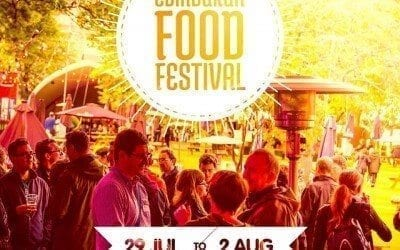 The Edinburgh Food Festival Starts Today!