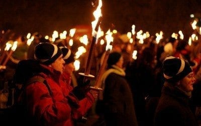 Edinburgh Hogmanay – Torchlight Procession