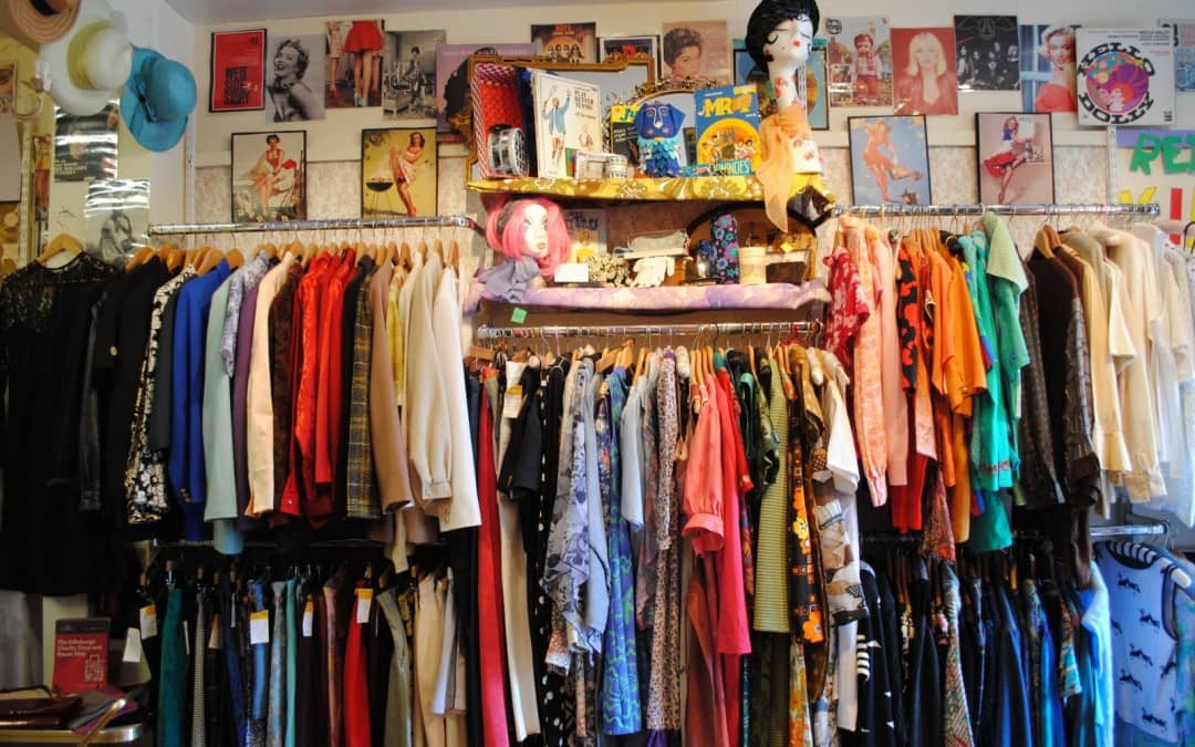 Volunteering in a charity shop in 2020:  good for your English, your CV and your community.
