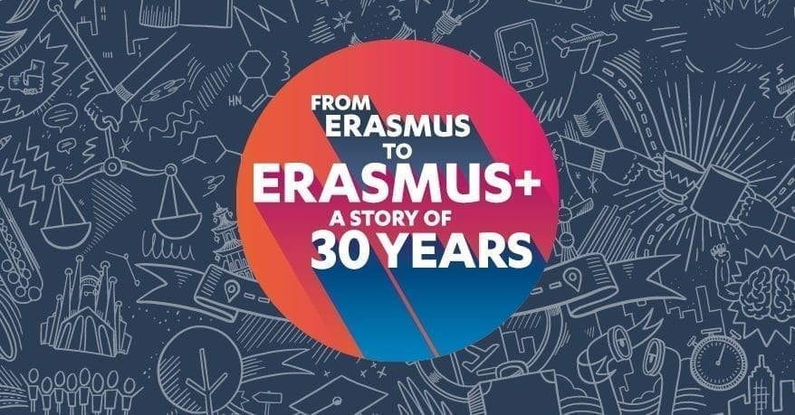 A story of 30 years: from Erasmus to Erasmus+