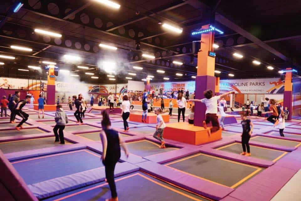 Gravity Trampoline Park Has Opened In Edinburgh Inlingua Edinburgh