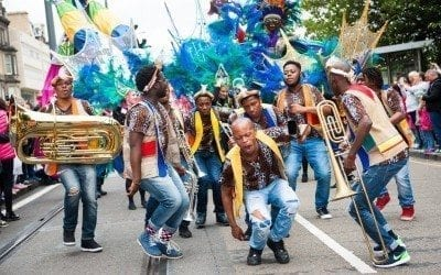 Edinburgh Jazz Festival Carnival Parade [Sunday 16th July 2017]