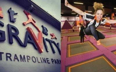 GraVity Trampoline Park has opened in Edinburgh!