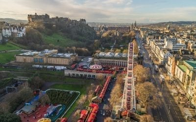 Edinburgh's Christmas Markets