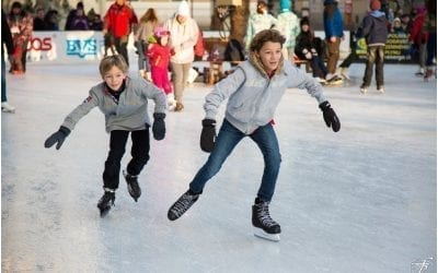 St Andrew Square Ice Rink