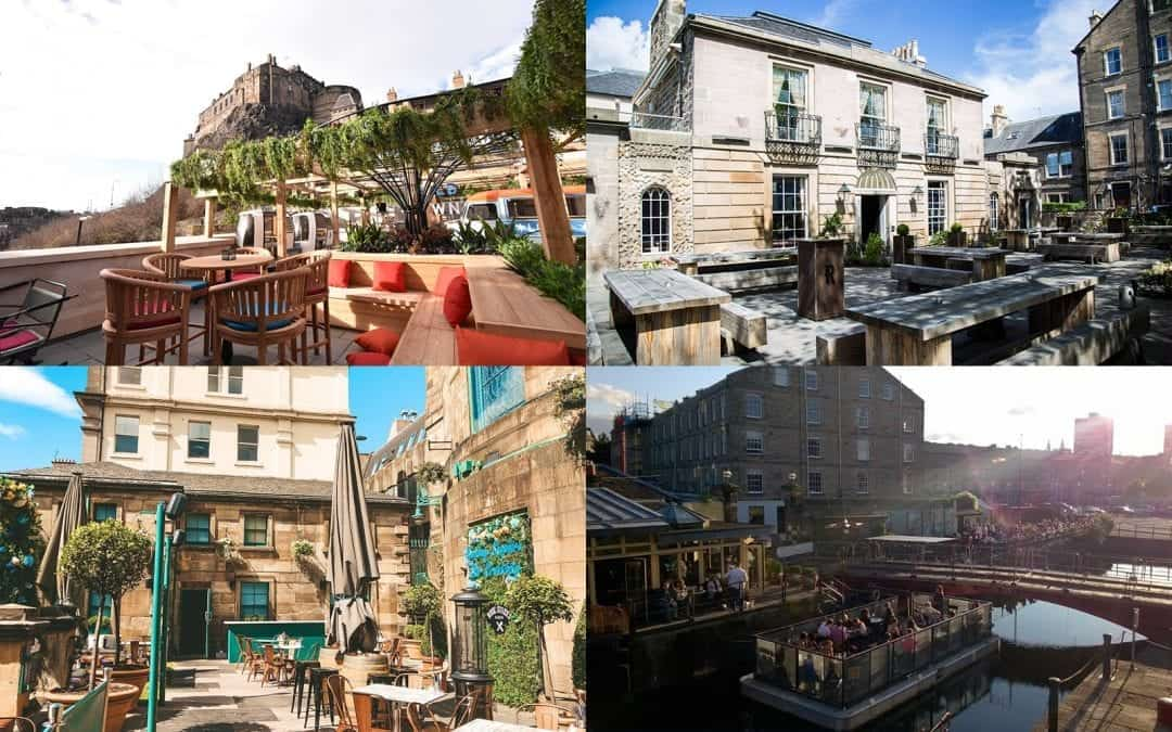 15 Best beer gardens you need to visit in Edinburgh this summer
